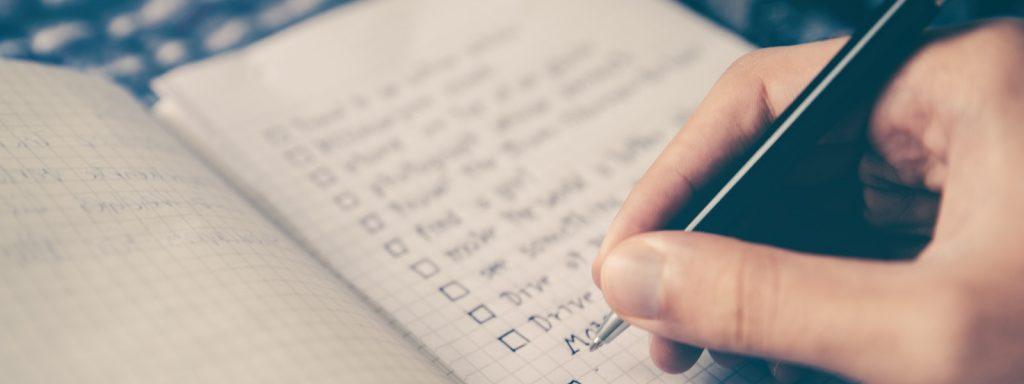 verwalter checkliste